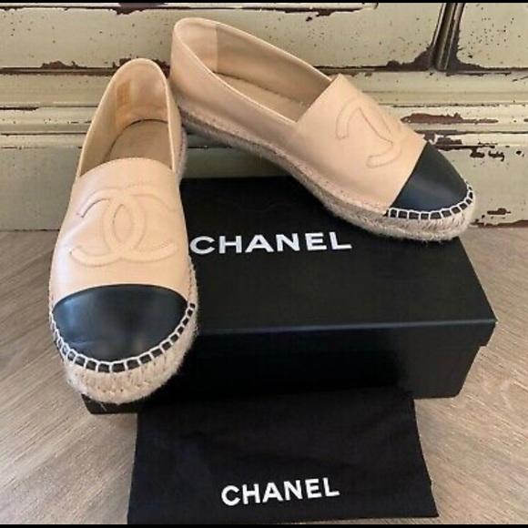 CHANEL Shoes   Chanel Lambskin Beige
